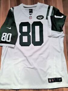 Jersey Trikot New York Jets NFL weiss dunkelgrün XL 80 Chrebet Nike Polyester