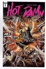 IDW HOT DAMN No. 1 ASHCAN Edition , 2016, First Edition VF