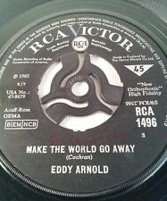 "Eddy Arnold – Make The World Go Away Vinyl 7"" Single UK RCA 1496 1965"