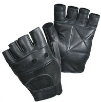 UNISEX NEW MENS LADIES FINGER LESS DRIVING BIKE CYCLING GLOVE SPORT