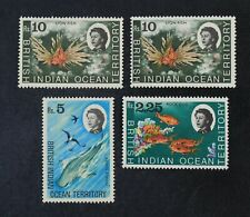 Ckstamps: Gb Stamps Collection British Indian Ocean Territory Scott#30 32 33 Nh