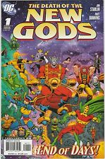 4 The Death of the New Gods DC Comic Books # 1 2 3 4 Superman Mr Miracle BH55