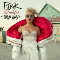 Pink - Beautiful Trauma - UK CD album 2017 P!nk