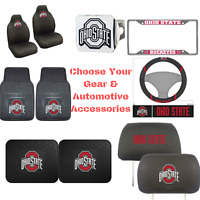 NCAA Ohio State Buckeye Pick Your Gear Automotive Accessories Official Licensed
