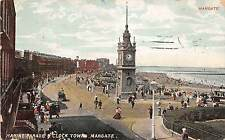 BR58394 marine parade clock tower margate    uk