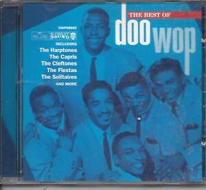 THE BEST OF DOO WOP  - ORIGINALS - MINT SEALED  CD - NEW FREE POST UK