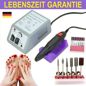 Elektrische Nagelmaschine Schleifbohrer für Nagel Maniküre Pediküre Maschine Neu