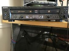 New listing Sony Rcd-W500C Cd Recorder and 5 disc Changer - 2 trays!