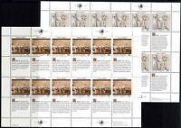 UNO New York Kleinbögen MiNr. 606-07 postfrisch MNH Menschenrechte (GF15648
