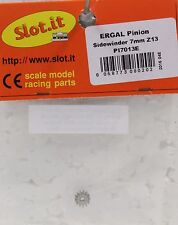 SLOT IT SIPI7013E 13-TOOTH ERGAL SIDEWINDER PINION NEW 1/32 SLOT CAR PART