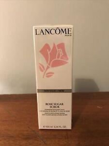NEW Lancome Rose sugar exfoliating face scrub 100ml