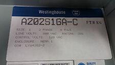 WESTINGHOUSE A202K1DA X2 8 POLES 30A LIGHTING CONTACTOR SEE PICS 120V COIL #A52