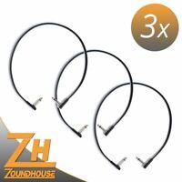 3 x Rockboard Flat Patch Cable 60 cm - Patchkabel