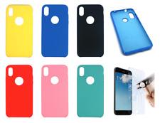 "Funda Carcasa Rigida Silicona Ultra Suave Para iPhone X / XS (4G) 5.8"""