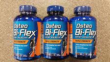 3 x Osteo Bi-Flex Triple Strength 170 Caplet 5-Loxin Glucosamine MSM 510 Total