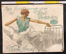 Altes Reklame Papp Plakat Ludwig Hohlwein Original Vintage Poster Arnold Betten