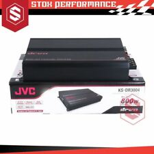 JVC KS-DR3004 DRVN Series 800Watts Max Class-AB 4-Channel Power Car Amplifier