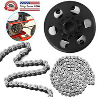 """Centrifugal Go Kart Clutch 3/4"""" Bore 10 Tooth With #420 Chain Kit 6.5HP Engine"""