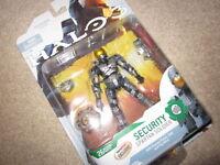"Gamestop exclusive Halo 3 Series 4 ""Steel Security Spartan"" Action Figure, NEW"