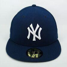New Era Cap Men's MLB New York Yankees Tonal Stripes 5950 Fitted Hat - 7 1/4