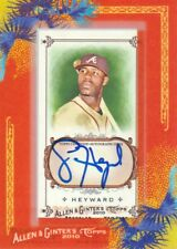2010 Topps Allen & Ginter Baseball AUTO #AGA-JH Jason Heyward Atlanta Braves