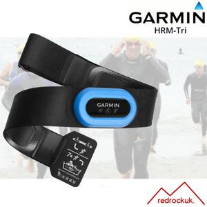 Garmin HRM-Tri Heart Rate Monitor Strap, Chest Strap - Black/Blue