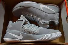 New Mens Nike Hyperdunk 2016 Low Basketball Shoes 844363-010 sz 10 wolf grey