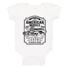 American Muscle Pontiac GTO Speed Shop 1970 Baby One-Piece Bodysuit T-shirt