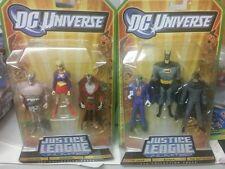 DC UNIVERSE JLU Batman Gray Ghost Joker Deimos Warlord Supergirl Justice League