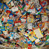 Huge Lot of Unopened Old Vintage Sports Cards in 15 Wax foil cello rack Packs