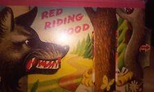 RARE 1961 VINTAGE 3D POP UP BOOK RED RIDING HOOD CHILDREN CRAFTS
