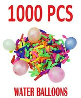 1000 WATER BALLOONS WATER BOMBS FOR KIDS OUTDOOR GARDEN FUN WATERING PLAY