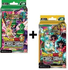 Dragon Ball Super Series 4 Colossal Warfare Starter Decks (2) with 2 dash packs
