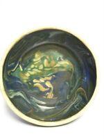 "Retro Art Studio Pottery 7"" Bowl with Merging Colours"
