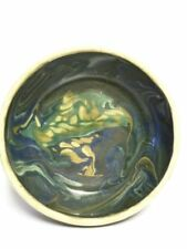 "Retro Art Studio Pottery 7"" Bowl with Merging Colours"