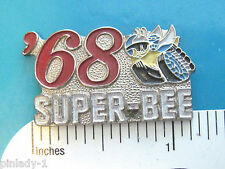 '68 1968 SUPER-BEE - hat pin , tie tac , lapel pin , hatpin GIFT BOXED