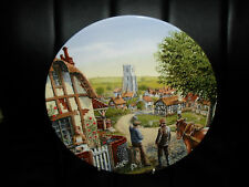"""Royal Doulton Plate """"Rose Cottage"""" By Mick Bensley """"Journey Through The Village"""""""