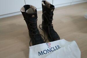 Moncler Men Leder Snow Boots Gr. 41 in OVP
