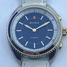 MICHELE Two-tone Navy Dial Women's Hybrid Smartwatch MWWT32A00001