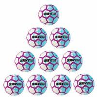 Derbystar Fußball Street Soccer Ball Freizeitball 10er Paket weiß Gr 5