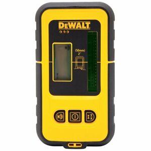 DeWALT DW0892G 165-Foot Rear Back-Lit LCD Green Laser Line Detector