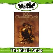 New 100 Christmas Carols Music Book for Easy Piano - Beginners' Songbook