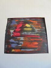 Art Moderne XX Daniel LANDER Dessin Feutre Papier Fin Signé & daté 62-  2/11