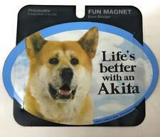 Life'S Better With An Akita, Dogs,Gifts, Cars, Trucks. Lockers Prismatix