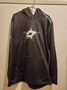 Fanatics Dallas Stars Authentic Pro Rinkside Hoodie Black, Men's Size XL New