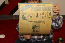 Vintage 1940's Vermillion Blinkers Fishing Lures Bait Gas Oil Sign