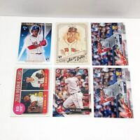 RAFAEL DEVERS Rookie Card RC Lot of 6: Boston Red Sox Topps Allen & Ginter