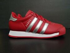 ADIDAS ORIGINALS KIDS SAMOA C SHOE SCARLET/SILVER B38766 - BRAND NEW IN BOX