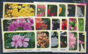 Cookinseln 1618-1635 MNH 2010 clear brands: Plants (8610136
