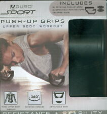 Duro Sport  Push - Up Grips ~ Total Upper Body Training ~ New In Box